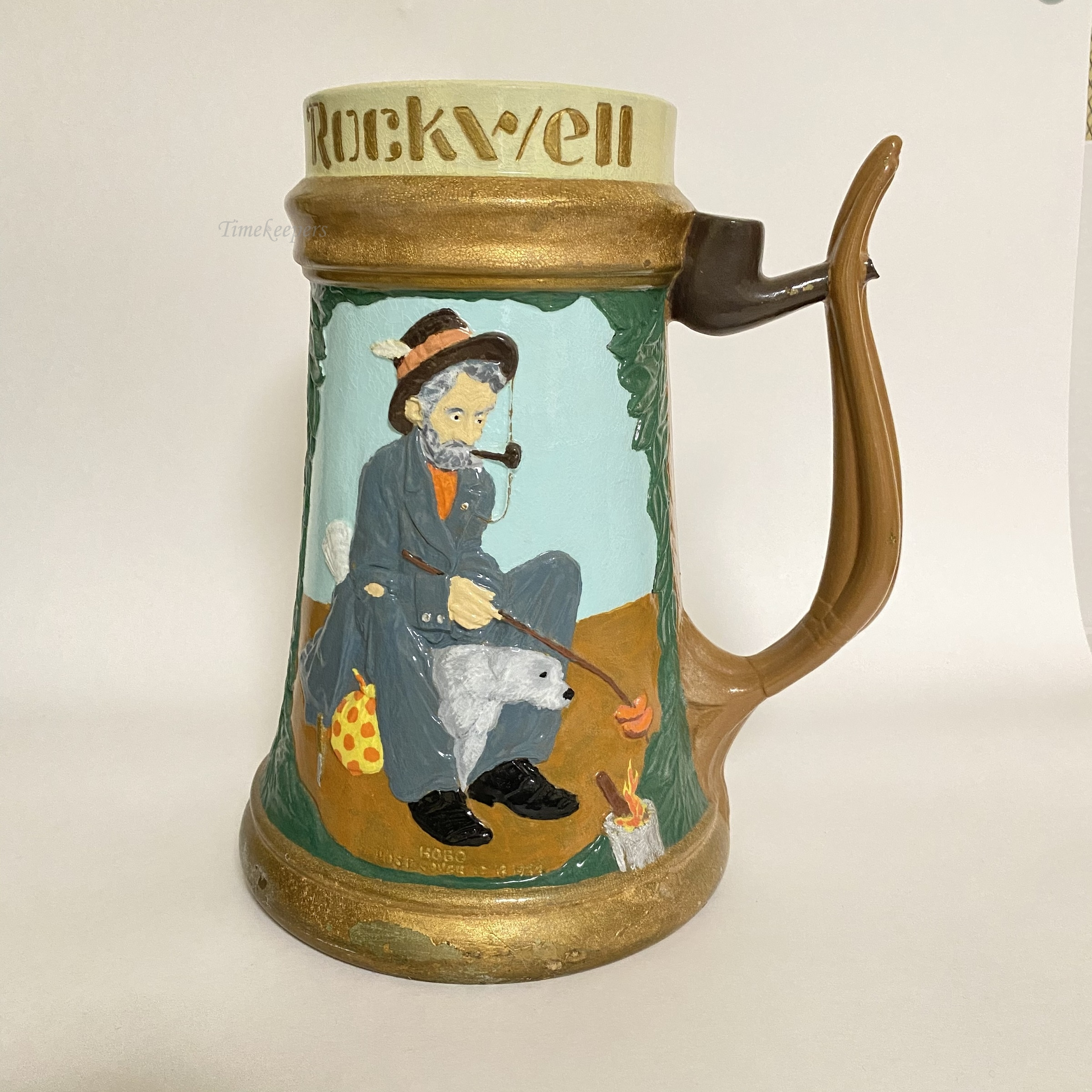 Budweiser Limited Edition Stein The Saturday Evening Post Norman Rockwell